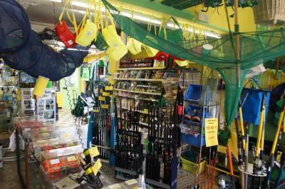 l'intérieur du magasin louguet-Pêche