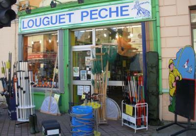 facade du magasin Louguet-Pêche