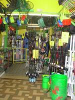 l'intérieur du magasin Louguet pêche